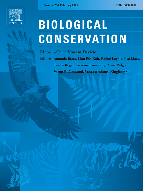 Top 100 research questions for biodiversity conservation in Southeast Asia