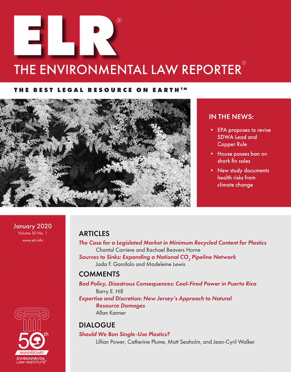 Tropical Conservation and Liability for Environmental Harm