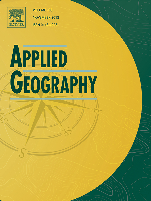 The geography of large-scale land acquisitions: Analysing socio-ecological patterns of target contexts in the global South
