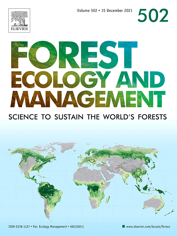 Forest diversity plays a key role in determining the stand carbon stocks of Mexican forests