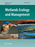 Source and stability of soil carbon in mangrove and freshwater wetlands of the Mexican Pacific coast