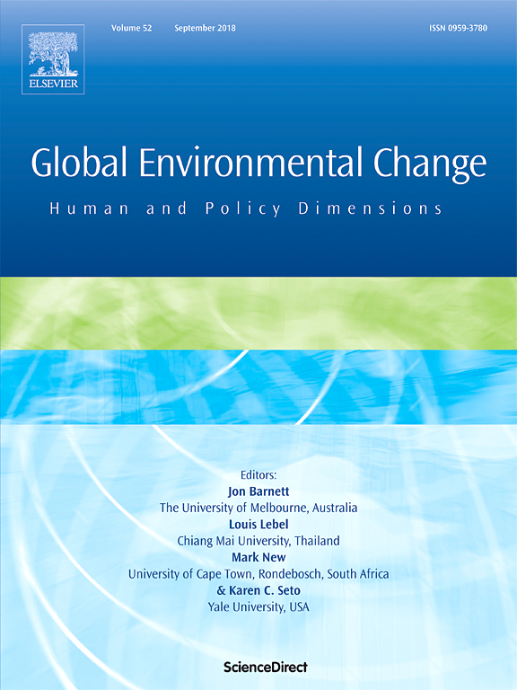 Multi-level governance and power in climate change policy networks