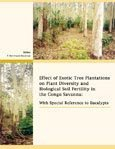 Effect of exotic tree plantations on plant diversity and biological soil fertility in the Congo savanna: with special reference to eucalypts
