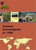 Sumarios de investigacion en 1998
