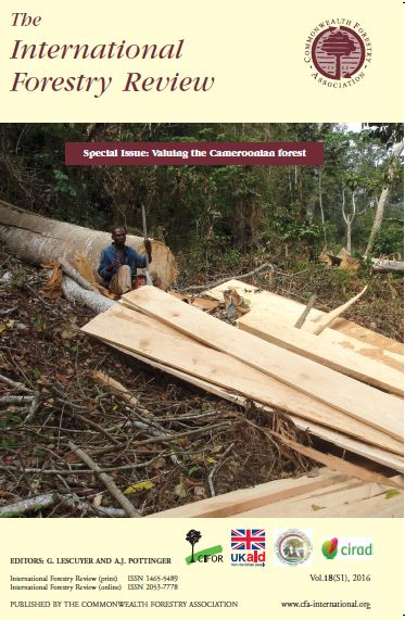 Valuing the Cameroonian Forest: Special Issue