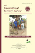 Forest cover, use and dietary intake in the East Usambara Mountains, Tanzania
