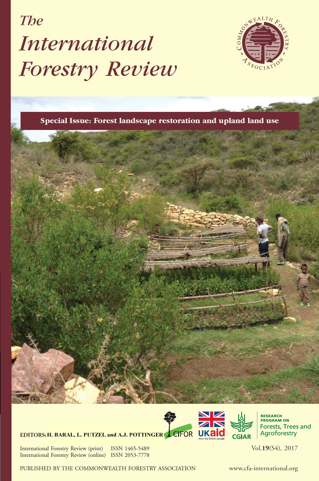 Studies on forest landscape restoration in hilly and mountainous regions of Asia and Africa – an introduction to the Special Issue