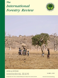 Dry forests, livelihoods and poverty alleviation: understanding current trends