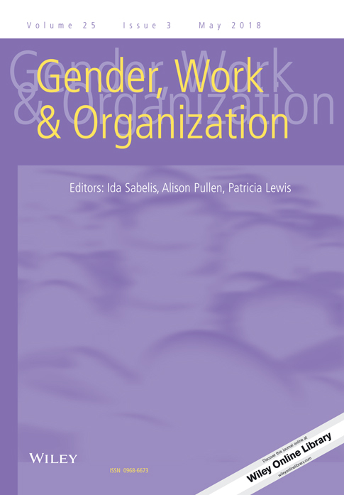 Disciplining Gender in Environmental Organizations: The Texts and Practices of Gender Mainstreaming