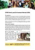 CIFOR Poverty and Environment Network (PEN)