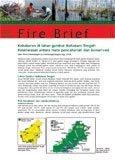 Kebakaran di lahan gambut Mahakam tengah: keselarasan antara mata pencaharian dan konservasi