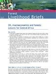 Oil, macroeconomics and forests: lessons for Central Africa