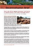 Small scale 100 ha logging concessions' contribution to regional finance: case study in Bulungan district