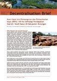 Kontribusi izin pemungutan dan pemanfaatan kayu (IPPK) 100 ha terhadap pendapatan daerah: studi kasus di kabupaten Bulungan