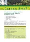 Penyusunan dokumen rancangan proyek aforestasi/reforestasi mekanisme pembangunan bersih