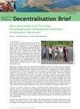 Akses masyarakat adat terhadap peluang-peluang pembangunan kehutanan di Kabupaten Manokwari