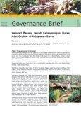 Mencari benang merah kelangsungan hutan adat ongkoe di Kabupaten Barru