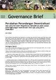 Perubahan Perundangan Desentralisasi