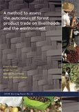 A method to assess the outcomes of forest product trade on livelihoods and the environment