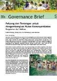 Peluang dan tantangan untuk mengembangkan hutan kemasyarakatan: Pengalaman dari Malinau