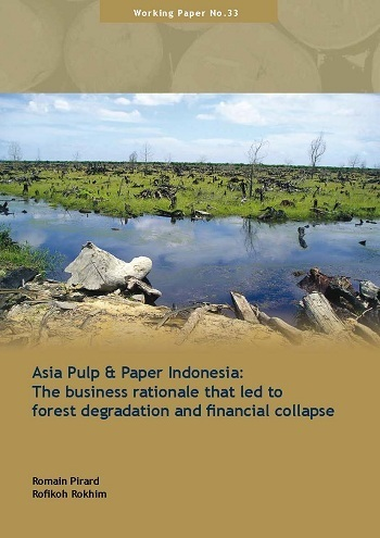 Asia pulp and paper Indonesia: the business rationale that led to forest degradation and financial collapse