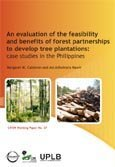 An evaluation of the feasibility and benefits of forest partnerships to develop tree plantations: case studies in the Philippines