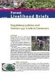 Regulatory policies and Gnetum spp. trade in Cameroon