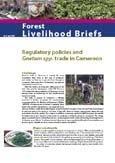 La reglementation du commerce de Gnetum Spp. au Cameroun
