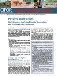Poverty and forests: multi-country analysis of spatial association and proposed policy solutions