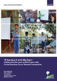 'If you saw it with my eyes': collaborative research and assistance with Central American forest steward communities