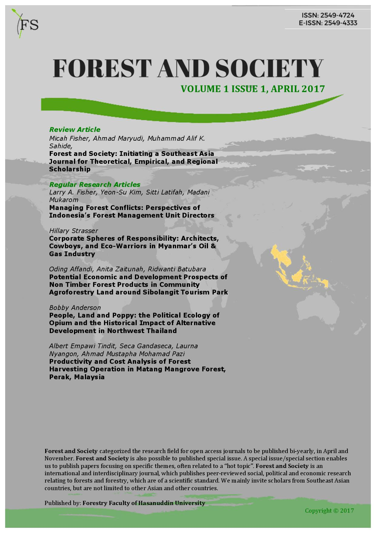 Social Forestry – why and for whom? A comparison of policies in Vietnam and Indonesia
