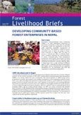 Developing community-based forest enterprises in Nepal