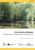 Forest carbon database: a web-based carbon stock data repository and exchange system