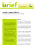 Conquering space and time: the challenge of emissions from land use change