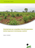 Potential land use competition from first-generation biofuel expansion in developing countries