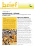 L'introduction de Pro-Formal: options politiques et réglementaires visant à reconnaître et à mieux intégrer le secteur national du bois dans les pays tropicaux