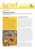 Tentang Pro-Formal: Berbagai pilihan kebijakan dan peraturan untuk dapat lebih memahami dan mengintegrasikan sektor kayu domestik di negara tropis.