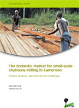 The domestic market for small-scale chainsaw milling in Cameroon: Present situation, opportunities and challenges