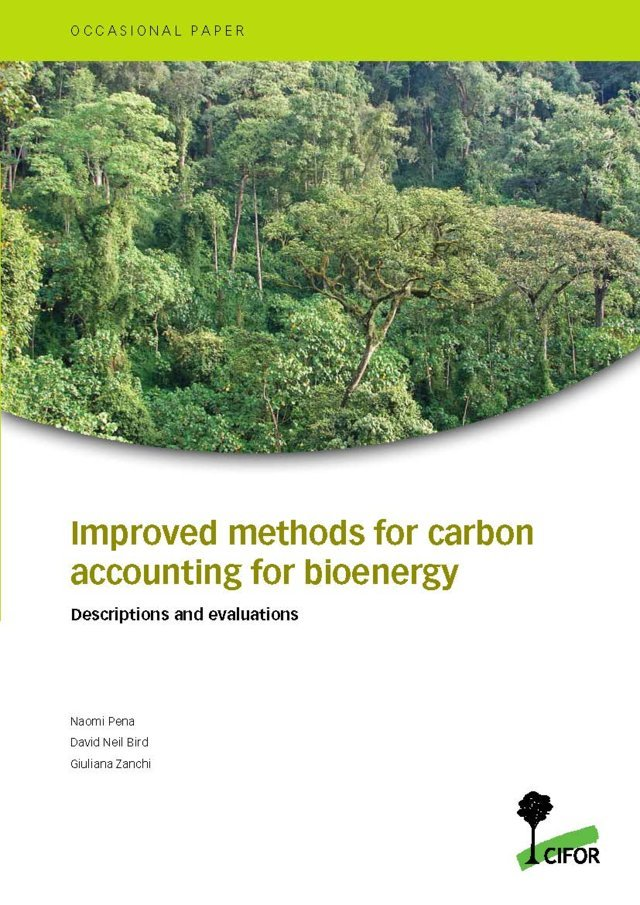 Improved methods for carbon accounting for bioenergy: Descriptions and evaluations