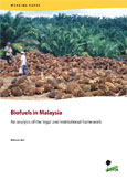 Biofuels in Malaysia: An analysis of the legal and institutional framework