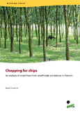 Chopping for chips: An analysis of wood flows from smallholder plantations in Vietnam