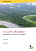 Indonesia's forest moratorium: A stepping stone to better forest governance?