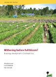 Withering before full bloom?: Bioenergy development in Southeast Asia