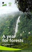 A year for forests: Annual report 2011