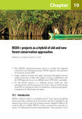 REDD+ projects as a hybrid of old and new forest conservation approaches