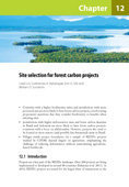 Site selection for forest carbon projects