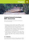 A stepwise framework for developing REDD+ reference levels