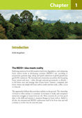 Introduction: Realising REDD+: National strategy and policy options
