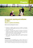 Measurement, reporting and verification for REDD+: Objectives, capacities and institutions