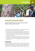 Community monitoring in REDD+